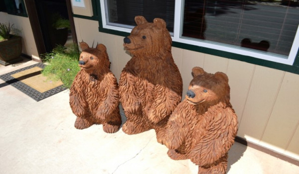 Yosemite Westgate Lodge - Meet our resident hand carved bears